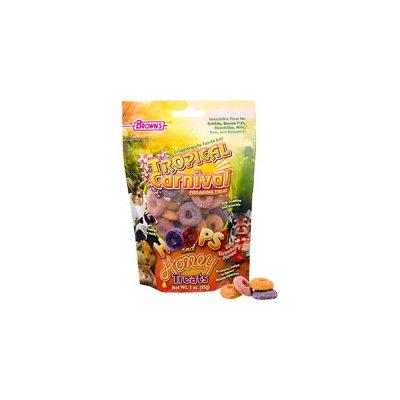 Brown's Tropical Carnival Hoops & Honey Treats, 3 oz.