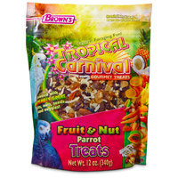 Fm Brown's Fm Browns BBN44986 Tropical Carnival Fruit & Nut Parrot Treat 12Oz