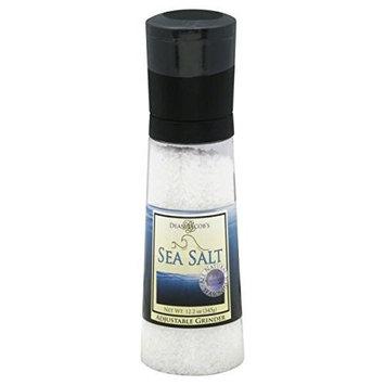Dean Jacob's Jumbo Grinder, Sea Salt, 6 oz, 2 pk