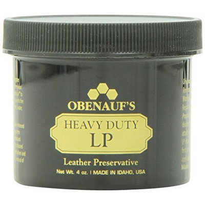 Obenauf's Heavy Duty LP 4oz - Preserves and Protects Leather - Made in the US [4 Ounces]