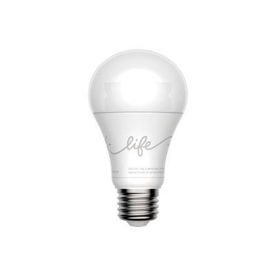 GE C-Life 11-Watt (60W Equivalent) 2700K A19 Medium Base (E-26) Dimmable Soft White LED Bulb with Bluetooth Capability 44301