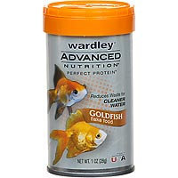 Wardley Advanced Nutrition Perfect Protein Goldfish Flake Food (1 oz.)