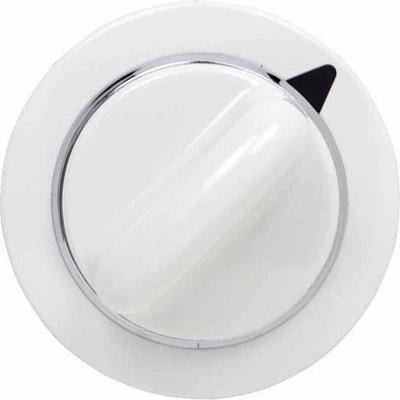 GE Dryer Timer Knob Assembly, White