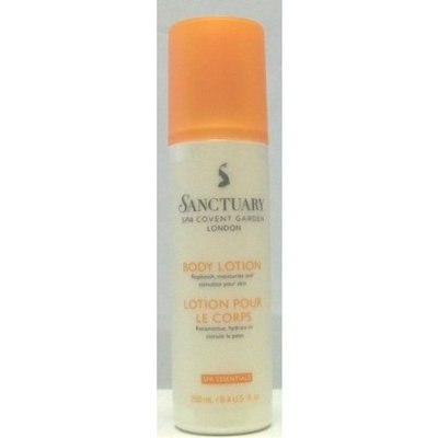 Sanctuary Spa Covent Garden London Body Lotion Replenish, Moisturize and Stmulate Your Skin, 250ml, 8.4oz