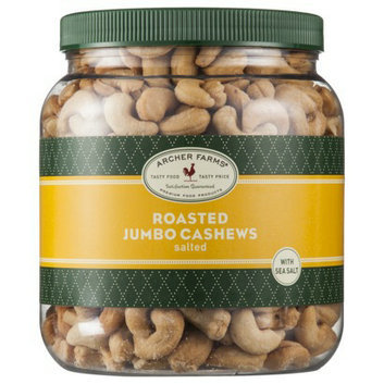 Archer Farms Salted Roasted Jumbo Cashews - 30 oz.