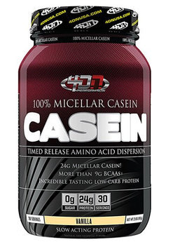 4 Dimension Nutrition - 100 Micellar Casein Vanilla - 2 lbs.