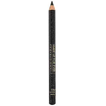 MAKE UP FOR EVER Kohl Pencil Black with Metal Highlights 6K 0.04 oz