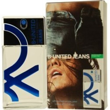 B UNITED JEANS by Benetton EDT SPRAY 3.3 OZ For Men