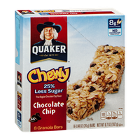 Quaker Chewy 25% Less Sugar, Chocolate Chip