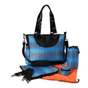 House of Botori Amara Shoulder Bag Skipper Diaper Bag, Azure, 1 ea