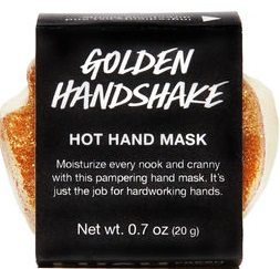 LUSH Golden Handshake Hot Hand Mask