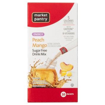 market pantry Market Pantry Peach Mango Sugar Free Energy Drink Mix 10 pk