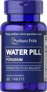 Puritan's Pride Water Pill with Potassium-60 Tablets