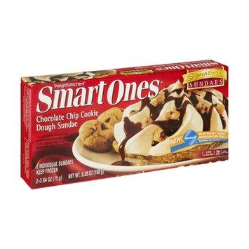 Weight Watchers Smart Ones Signature Sundaes Chocolate Chip Cookie Dough Sundae - 2 CT