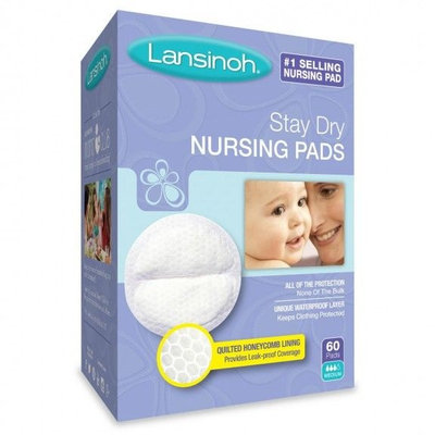 Lansinoh® Stay Dry Disposable Nursing Pads