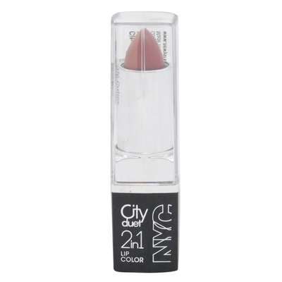NYC City Duet 2-in-1 Lipcolor, The Caf Cuties, .13 oz