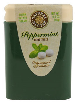 Natural Nectar Mini Mints Peppermint 0.5 oz