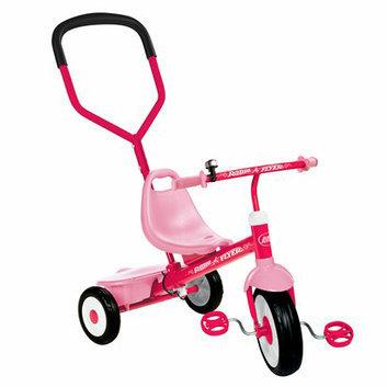 Radio Flyer Girl's Steer & Stroll Trike - Pink