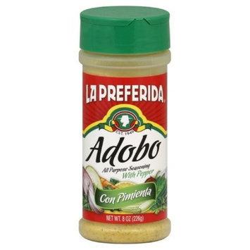 La Preferida Adobo Con Pimienta, 8.6-Ounce (Pack of 12)