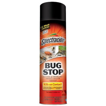 Spectracide 50967 Bug Stop Flying and Crawling Insect Killer, 16-Ounce Aerosol