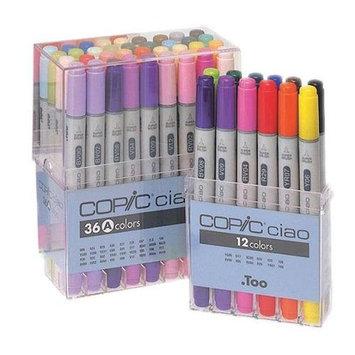 Copic I36D Ciao 36-Marker Set D
