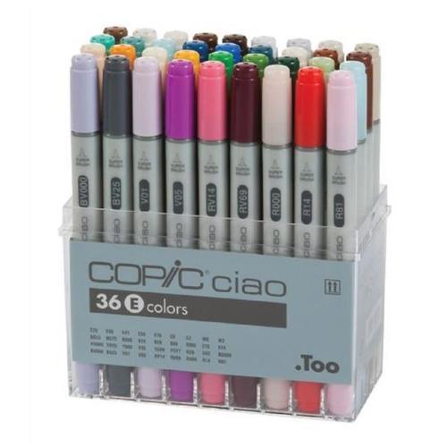 Copic I36E Ciao 36-Marker Set E