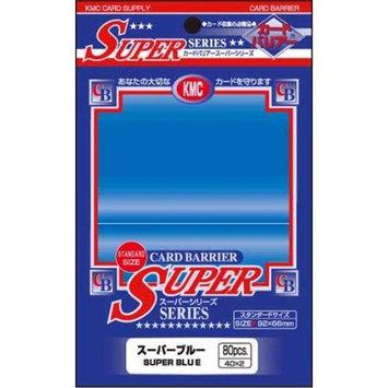 KMC Sleeves S1027 Deck Protectors Super Blue Pack - 80