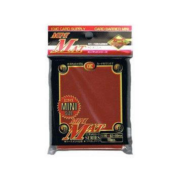 KMC Sleeves MS1454 Deck Protectors Mini Matte Red Pack - 50