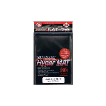 KMC Sleeves HM1508 Deck Protectors Hyper Matte Black Pack - 80