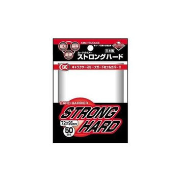 KMC Sleeves SH1522 Deck Protectors Oversized Clear Strong Hard Pack - 50