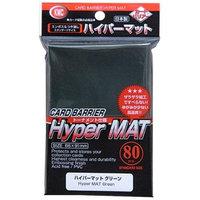 KMC Sleeves HM1553 Deck Protectors Hyper Matte Green Pack - 80
