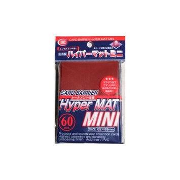 KMC Sleeves MHM1607 Deck Protectors Mini Hyper Red Pack - 60