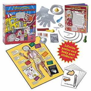 Young Scientists Club Magic School Bus Journey Through The Human Body Ages 5+
