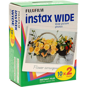 Fuji Instax Wide Picture Format Instant Film - Twin Pack