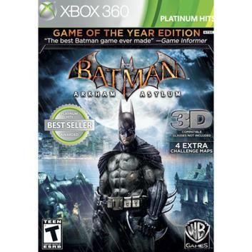 Warner Brothers Batman: Arkham Asylum -- Game of the Year Edition (Xbox 360)