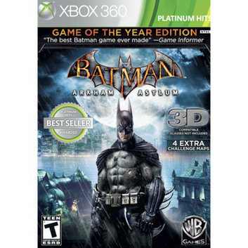 Warner Brothers Batman: Arkham Asylum -- Game of the Year Edition (Xbox 360)