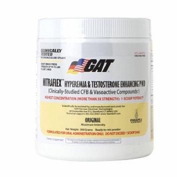 GAT - Nitraflex Hyperemia & Testosterone Enhancing PWD Pineapple 30 Servings - 300 Grams Formerly German American Technologies
