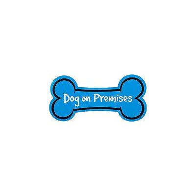 Hillman Sign Center - Dog on Premises, 14.5 L X 7 H