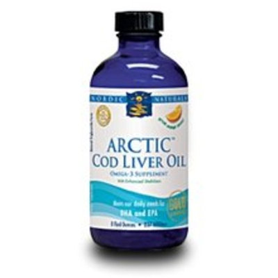 Nordic Pure Arctic Cod Liver Oil (orange) 8oz