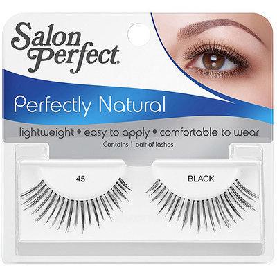 Salon Perfect Perfectly Natural Eyelashes, 45 Black, 1 pr