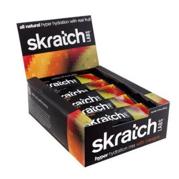 Skratch Labs Hyper Hydration Drink Mix Mangos, 20 Pack