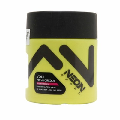NEON Sport Volt Pre-Workout Powder, Watermelon, 180 g
