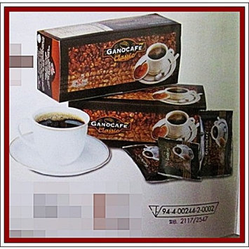 GANO EXCEL THAILAND GANO EXCEL GANOCAFE CLASSIC GANODERMA HEALTHY COFFEE TOTAL 120 SACHETS (4 BOXES) FREE 10 MORINGA TEA BAG PRODUCT FROM THAILAND