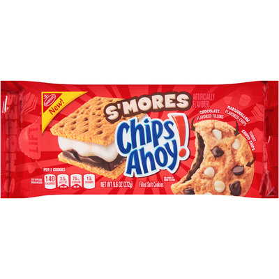 Nabisco Chips Ahoy! S'mores Filled Soft Cookies
