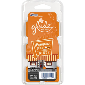 Glade 6-Pack 2.3-oz Pumpkin Pie Electric Air Freshener Refill 657212