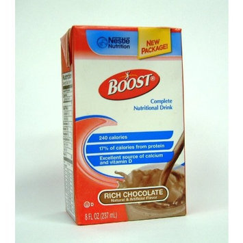 Boost Nutrition Drink Rich Chocolate **4 Case Special** 8oz Brikpaks 27/Case
