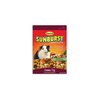 Higgins Sunburst Gourmet Guinea Pig Food Mix, 6 lbs. ()