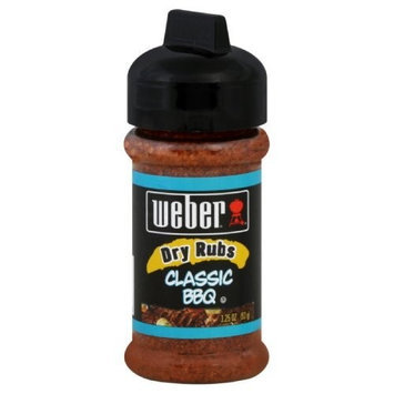 Weber Grill BBQ Rub, Classic, 3.25-Ounce (Pack of 6)