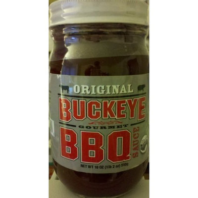 Buckeye Bbq Original Buckeye Gourmet Bbq Souce, 18 Oz (Pack of 6)