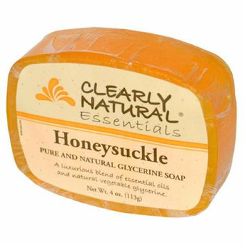 Clearly Naturals Clearly Natural Glycerine Bar Soap Honeysuckle 4 oz
